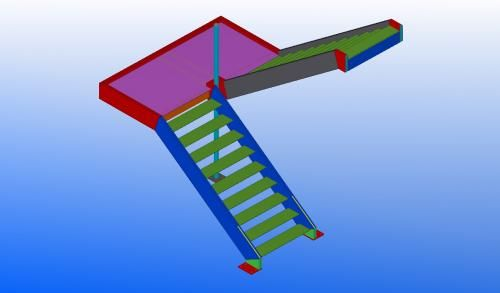 FL1656 - STAIR MODEL